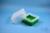 EPPi® Box 122 / 9x9 Fächer, grün, Höhe 122 mm fix, ohne Codierung, PP. EPPi®...