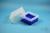 EPPi® Box 122 / 9x9 Fächer, neon-blau, Höhe 122 mm fix, ohne Codierung, PP....
