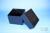 EPPi® Box 128 / 1x1 ohne Facheinteilung, black/black, Höhe 128 mm fix, ohne...