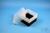 EPPi® Box 128 / 1x1 ohne Facheinteilung, schwarz, Höhe 128 mm fix, ohne...
