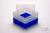 EPPi® Box 128 / 1x1 ohne Facheinteilung, neon-blau, Höhe 128 mm fix, ohne...