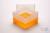 EPPi® Box 128 / 1x1 ohne Facheinteilung, neon-orange, Höhe 128 mm fix, ohne...