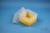 EPPi® Box 128 / 1x1 ohne Facheinteilung, gelb, Höhe 128 mm fix, ohne...