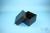 EPPi® Box 128 / 7x7 Fächer, black/black, Höhe 128 mm fix, ohne Codierung, PP....