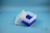 EPPi® Box 128 / 7x7 Fächer, neon-blau, Höhe 128 mm fix, ohne Codierung, PP....