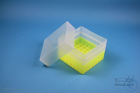 EPPi® Box 128 / 7x7 divider, neon-yellow, height 128 mm fix, without ID code,...