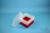 EPPi® Box 128 / 7x7 Fächer, rot, Höhe 128 mm fix, ohne Codierung, PP. EPPi®...