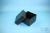 EPPi® Box 128 / 9x9 Fächer, black/black, Höhe 128 mm fix, ohne Codierung, PP....
