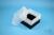 EPPi® Box 128 / 9x9 Fächer, schwarz, Höhe 128 mm fix, ohne Codierung, PP....