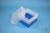 EPPi® Box 128 / 9x9 Fächer, blau, Höhe 128 mm fix, ohne Codierung, PP. EPPi®...