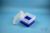 EPPi® Box 128 / 9x9 Fächer, neon-blau, Höhe 128 mm fix, ohne Codierung, PP....