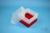EPPi® Box 128 / 9x9 Fächer, rot, Höhe 128 mm fix, ohne Codierung, PP. EPPi®...