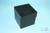 EPPi® Box 128 / 10 Löcher, black/black, Höhe 128 mm fix, ohne Codierung, PP....