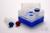 EPPi® Box 128 / 10 Löcher, neon-blau, Höhe 128 mm fix, ohne Codierung, PP....