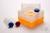 EPPi® Box 128 / 10 Löcher, neon-orange, Höhe 128 mm fix, ohne Codierung, PP....