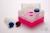 EPPi® Box 128 / 10 Löcher, neon-rot/pink, Höhe 128 mm fix, ohne Codierung,...