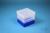 EPPi® Box 129 / 1x1 ohne Facheinteilung, neon-blau, Höhe 129 mm fix, ohne...