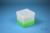 EPPi® Box 129 / 1x1 ohne Facheinteilung, neon-grün, Höhe 129 mm fix, ohne...