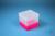 EPPi® Box 129 / 1x1 ohne Facheinteilung, neon-rot/pink, Höhe 129 mm fix, ohne...