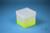 EPPi® Box 129 / 1x1 ohne Facheinteilung, neon-gelb, Höhe 129 mm fix, ohne...