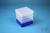 EPPi® Box 145 / 1x1 ohne Facheinteilung, neon-blau, Höhe 145-155 mm variabel,...