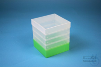 EPPi® Box 145 / 1x1 without divider, neon-green, height 145-155 mm variable,...