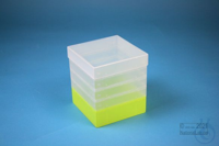 EPPi® Box 145 / 1x1 without divider, neon-yellow, height 145-155 mm variable,...