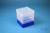 EPPi® Box 154 / 1x1 ohne Facheinteilung, neon-blau, Höhe 154 mm fix, ohne...