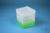 EPPi® Box 154 / 1x1 ohne Facheinteilung, neon-grün, Höhe 154 mm fix, ohne...
