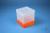 EPPi® Box 154 / 1x1 ohne Facheinteilung, neon-orange, Höhe 154 mm fix, ohne...