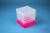 EPPi® Box 154 / 1x1 ohne Facheinteilung, neon-rot/pink, Höhe 154 mm fix, ohne...