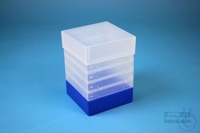 EPPi® Box 178 / 1x1 without divider, neon-blue, height 178 mm fix, without ID...