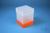 EPPi® Box 178 / 1x1 ohne Facheinteilung, neon-orange, Höhe 178 mm fix, ohne...