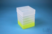 EPPi® Box 178 / 1x1 without divider, neon-yellow, height 178 mm fix, without...