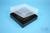 EPPi® Box 37 / 10x10 Fächer, schwarz, Höhe 37 mm fix, ohne Codierung, PP....