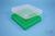 EPPi® Box 37 / 10x10 Fächer, grün, Höhe 37 mm fix, ohne Codierung, PP. EPPi®...
