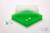 EPPi® Box 37 / 10x10 Fächer, neon-grün, Höhe 37 mm fix, ohne Codierung, PP....