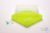 EPPi® Box 37 / 10x10 Fächer, neon-gelb, Höhe 37 mm fix, ohne Codierung, PP....