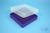 EPPi® Box 37 / 10x10 Fächer, violett, Höhe 37 mm fix, ohne Codierung, PP....
