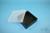 EPPi® Box 37 / 1x1 ohne Facheinteilung, schwarz, Höhe 37 mm fix, ohne...