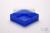 EPPi® Box 37 / 1x1 ohne Facheinteilung, neon-blau, Höhe 37 mm fix, ohne...