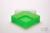 EPPi® Box 37 / 1x1 ohne Facheinteilung, neon-grün, Höhe 37 mm fix, ohne...