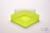 EPPi® Box 37 / 1x1 ohne Facheinteilung, neon-gelb, Höhe 37 mm fix, ohne...