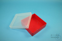 EPPi® Box 37 / 1x1 without divider, red, height 37 mm fix, without ID code,...