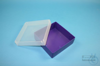 EPPi® Box 37 / 1x1 without divider, violet, height 37 mm fix, without ID...