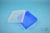 EPPi® Box 45 / 1x1 ohne Facheinteilung, neon-blau, Höhe 45-53 mm variabel,...