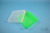EPPi® Box 45 / 1x1 ohne Facheinteilung, neon-grün, Höhe 45-53 mm variabel,...