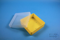 EPPi® Box 45 / 1x1 without divider, yellow, height 45-53 mm variable, without...