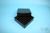 EPPi® Box 45 / 7x7 Fächer, black/black, Höhe 45-53 mm variabel, ohne...