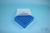 EPPi® Box 45 / 7x7 Fächer, blau, Höhe 45-53 mm variabel, ohne Codierung, PP....